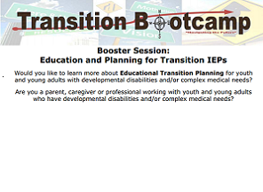 Transition Planning and Transition IEP's