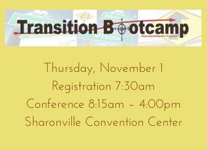 Registration Open for Transition Bootcamp