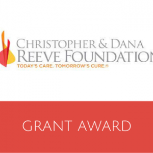 Christopher and Dana Reeve Foundation Grant